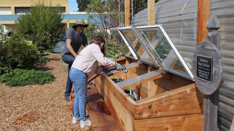 ghs garden receives lowe's toolbox for education grant | gateway schools